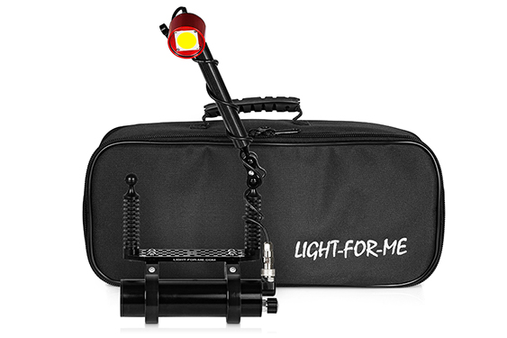 Redstar Mini Video Set - front view with bag